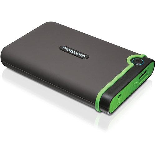 External 750GB hard drive