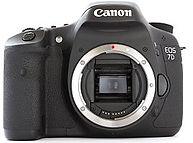 Canon 7D camera hire