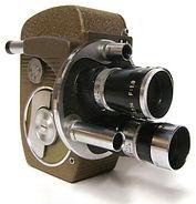 Vitage film camera hire
