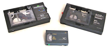 VHSc mini VHS tapes transferred toDVD