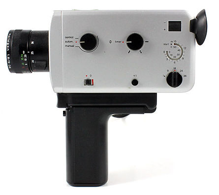 Super 8mm film camera rental