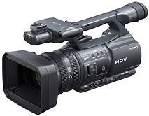 Hire Sony Mini DV FX 1 camcorder - 1.jpg