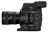 Hire C300 video camera hire
