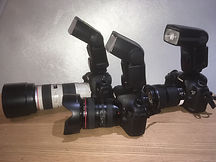 Rent reporters cameras with long lenses