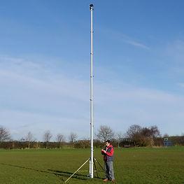 Camera mast to hire