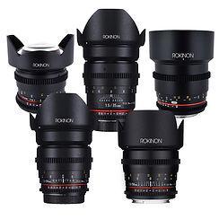 Hire Samyang Cine Lenses
