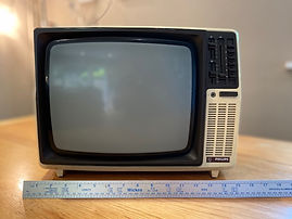Hire Vintage Portable TV for Prop Hire