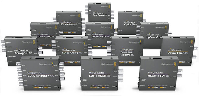 Hire Blackmagic converter units