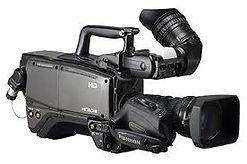 Rent Vintage Old Video TV news camera