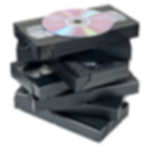 VHS video tapes transfer service to DVD