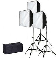 Hire 3 x softbox lights in London
