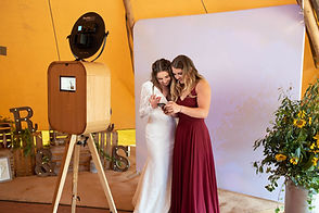 Wedding photo picture booth