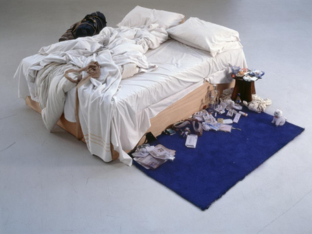 What are the intentions behind Tracey Emin's autobiographical work?
