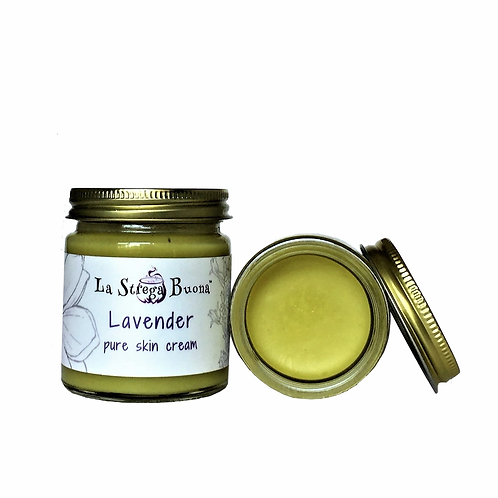 Organic Lavender Body Cream 2 oz