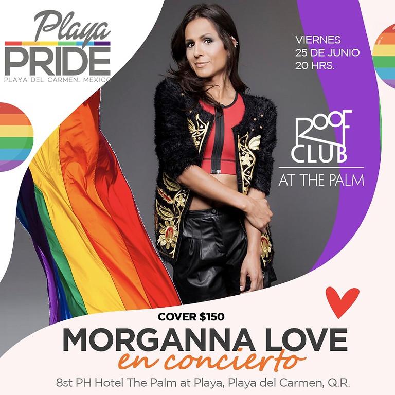 Morganna Love en Concierto