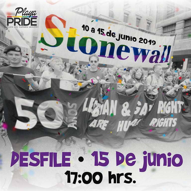 Marcha de Orgullo LGBT+