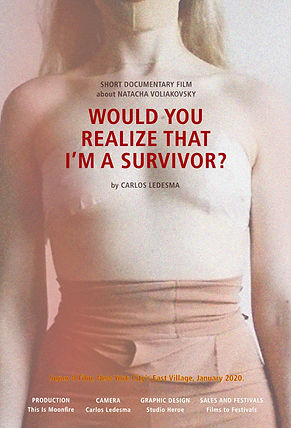 WOULD YOU REALICE THAT I`M A SURVIVOR?, Carlos Ledesma                                                                                 ,The Queer Film Festival Playa del Carmen