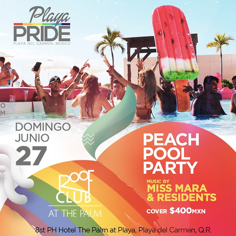 PEACH POOL PARTY
