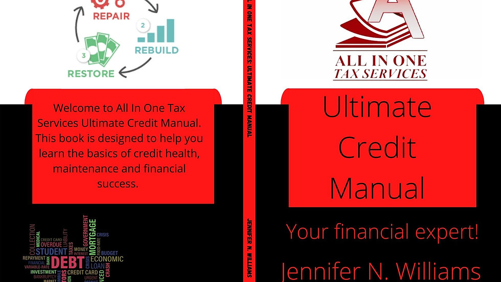 All In One Tax Services: Ultimate Credit Manual