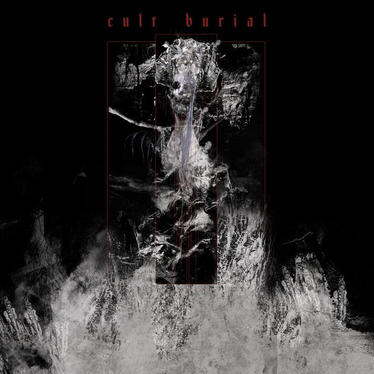 Cult Burial Album Art With Band Logo