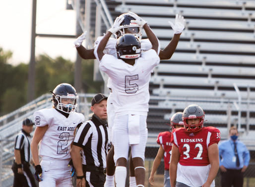 Football Gets Win and New School Record