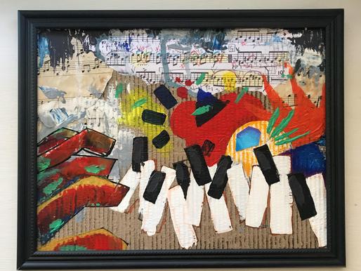 """Aces Art Exhibition: Hannah Bacud's """"Con Molto Fuoco"""""""