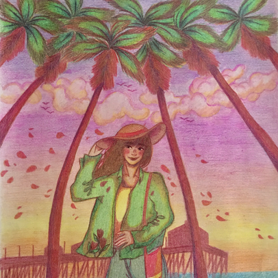 """Ace's Art Exhibition: Van-Chi Tran's """"Under the Palm Shade"""""""