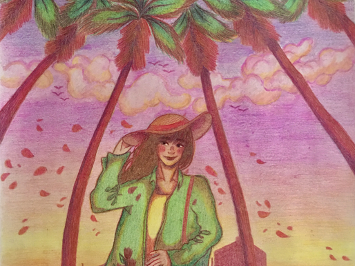 "Ace's Art Exhibition: Van-Chi Tran's ""Under the Palm Shade"""
