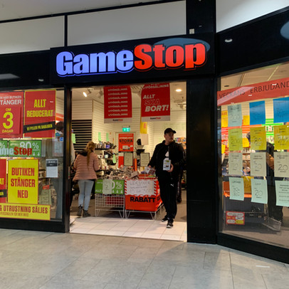 Video Game Retailer GameStop Experiences Historic Short Squeeze