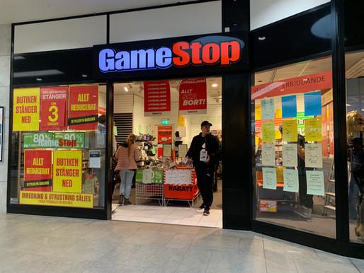 Video Game Retailer GameStop Experiences Historic Short Squeeze