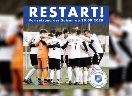 Fortsetzung der Saison 2019/2020