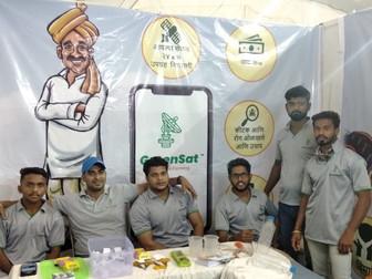 Our team at Shivar Krishi Pradarshan, Tasgaon District, Sangli