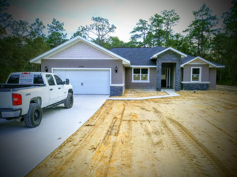 Custom home by Rise Construction