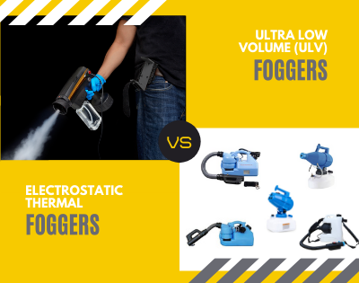 ULV Fogger vs Electrostatic Thermal Fogger