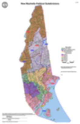 New Rochelle 2016 Political Subdivisions