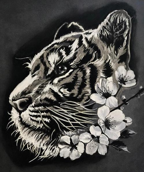 Tiger Black&Grey