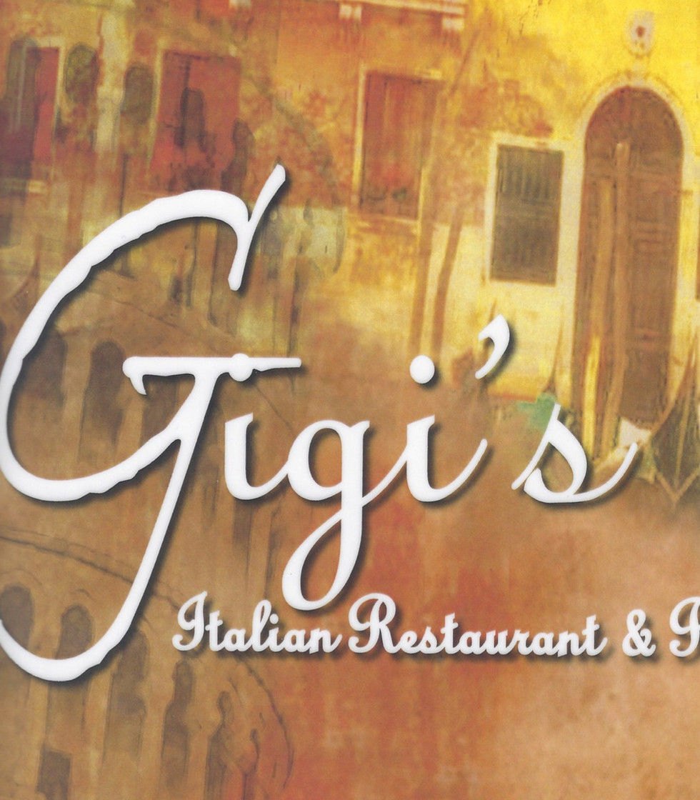 Gigis Italian Restaurant Menu