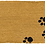 Thumbnail: Sausage Dog Box Paw Print Double Doormat