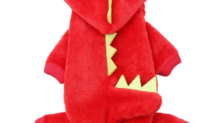 Sausage Dog Box, Dachshund Dachshund Dragon Outfit - Red