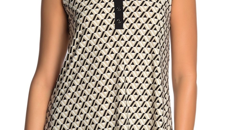 Spense Printed Sleeveless Blouse NWT