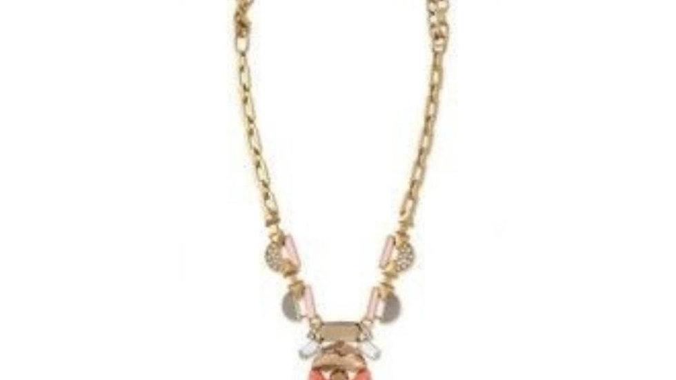 Stella & Dot Pop Geo Pendant Necklace