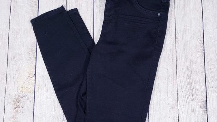 Blue Spice Black Jeggings