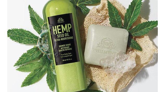 Veilment Hemp Seed Oil Ultra-Nourishing Bathing Bar NEW