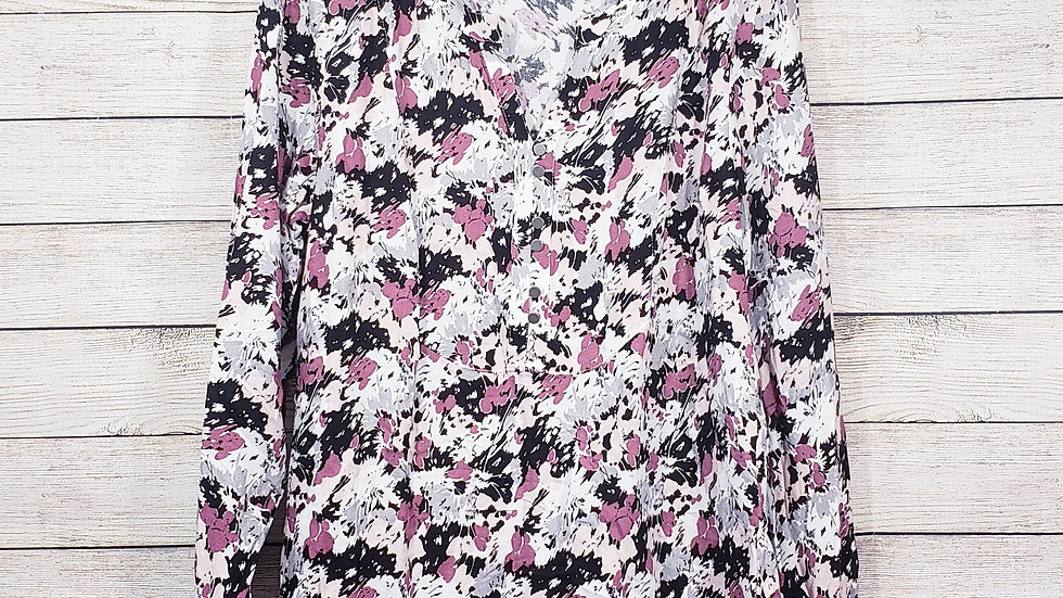 Christopher and Banks Floral Blouse