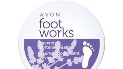Foot Works Lavender Softening Balm NEW