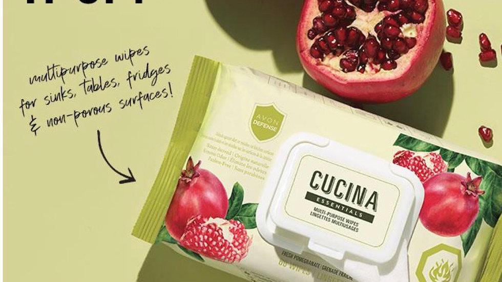Avon Cucina Essentials Multi Purpose Wipes NEW