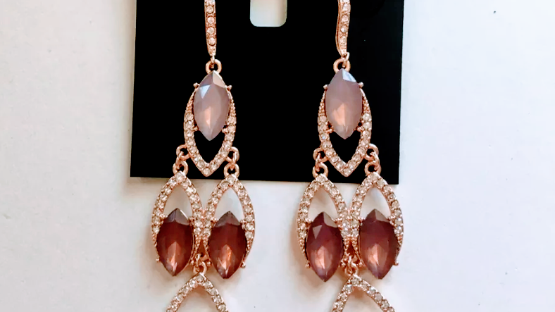 INC Fashion Statement Chandelier Earrings NWT