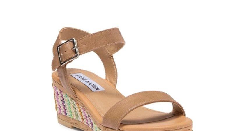 Steve Madden Bora Wedge Sandal NEW