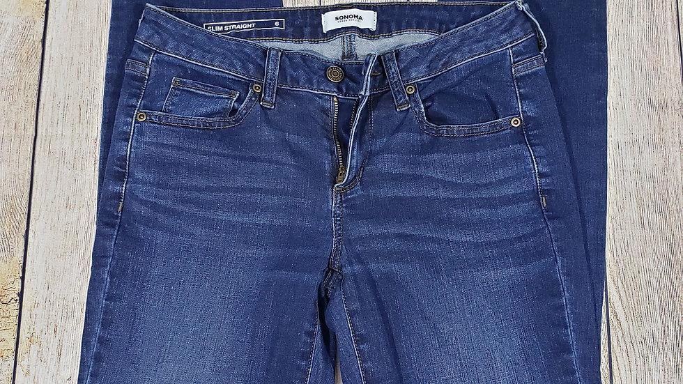 Sonoma Slim Straight Jeans