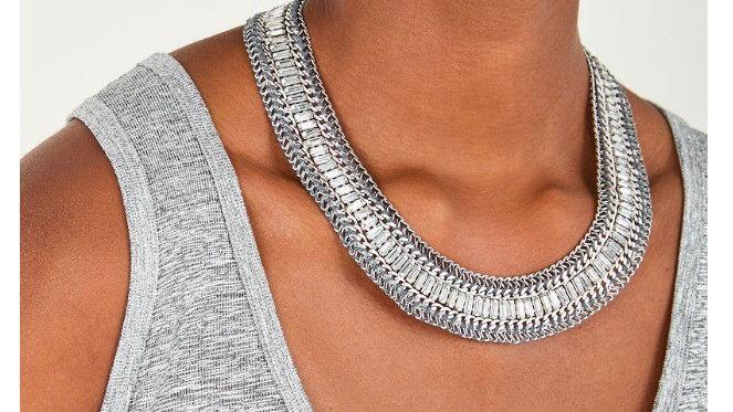 Stella & Dot Betty Sparkle Necklace NIB